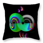 City Under The Sea Throw Pillow