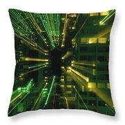 City Zoom II Throw Pillow