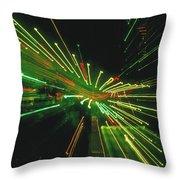 City Zoom Throw Pillow