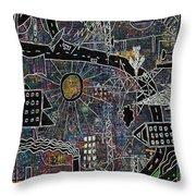 Citysun 2 Throw Pillow