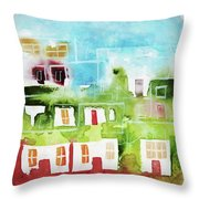 Ciudad 4 Throw Pillow