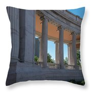 Civic Center Park Denver Co Throw Pillow