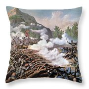 Civil War, 1864 Throw Pillow