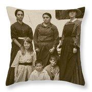 Civil War A Family Affair Throw Pillow