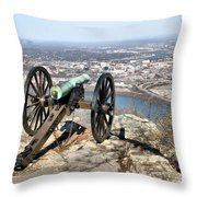 Civil War Cannon Throw Pillow