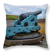 Civil War Cannon Throw Pillow
