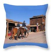 Civil War Cavalry Throw Pillow