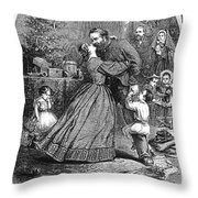 Civil War: Christmas Throw Pillow