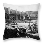 Civil War: Fort Sumter Throw Pillow