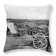 Civil War: Fortifications Throw Pillow