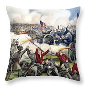 Civil War: Gettysburg, 1863 Throw Pillow