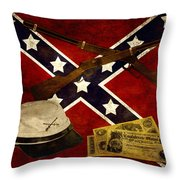 Civil War Memories Throw Pillow