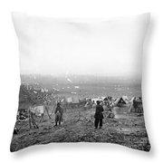 Civil War: Nashville, 1864 Throw Pillow