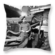 Civil War: Powder Monkey Throw Pillow