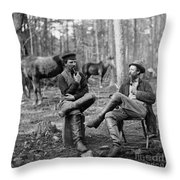 Civil War: Soldiers, 1864 Throw Pillow