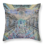Claiming Of The Soul Throw Pillow