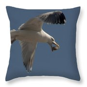 Clams For Dinner Throw Pillow