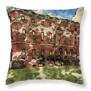 Clandon House Throw Pillow