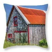 Clapboard House Throw Pillow