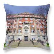 Clara Ford Pavilion Throw Pillow