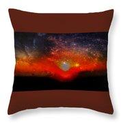 Clare Sunset Throw Pillow