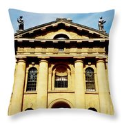 Clarendon Building, Broad Street, Oxford Throw Pillow