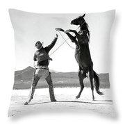 Clark Gable, The Misfits Throw Pillow