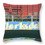 Clarksdale Overpass Throw Pillow