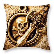 Clash Of The Dead Throw Pillow