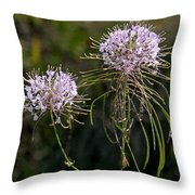 Clasping Warea Throw Pillow