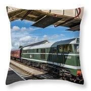 Class 31 Diesel 1 Throw Pillow