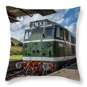 Class 31 Diesel 3 Throw Pillow