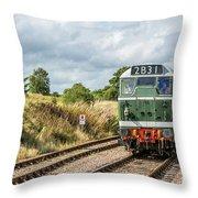 Class 31 Diesel 4 Throw Pillow