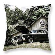 Class Cars Throw Pillow