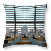 Class In The City Throw Pillow