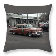 Classic 1950's Chevy Throw Pillow