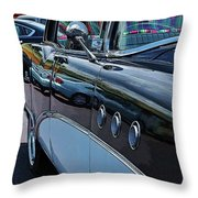 Classic 55 Buick Special Throw Pillow