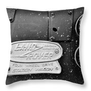Classic Adventure Vehicle Throw Pillow