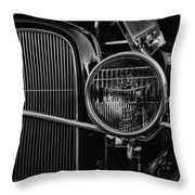 Classic American Ford Coupe Throw Pillow