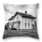 Classic American House Throw Pillow