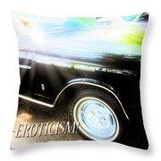 Classic Automobile, Auto Eroticism Throw Pillow