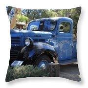 Classic Automobile Throw Pillow