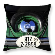 Classic Beetle Throw Pillow