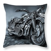 Classic Bike Throw Pillow