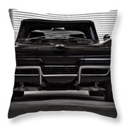 Classic Black Throw Pillow