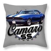 Classic Camaro Throw Pillow