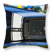 Classic Camaro Throw Pillow