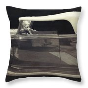 Classic Car 3 Throw Pillow