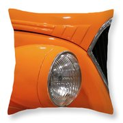 Classic Car Details Throw Pillow