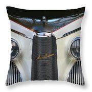 Classic Car Front End Throw Pillow